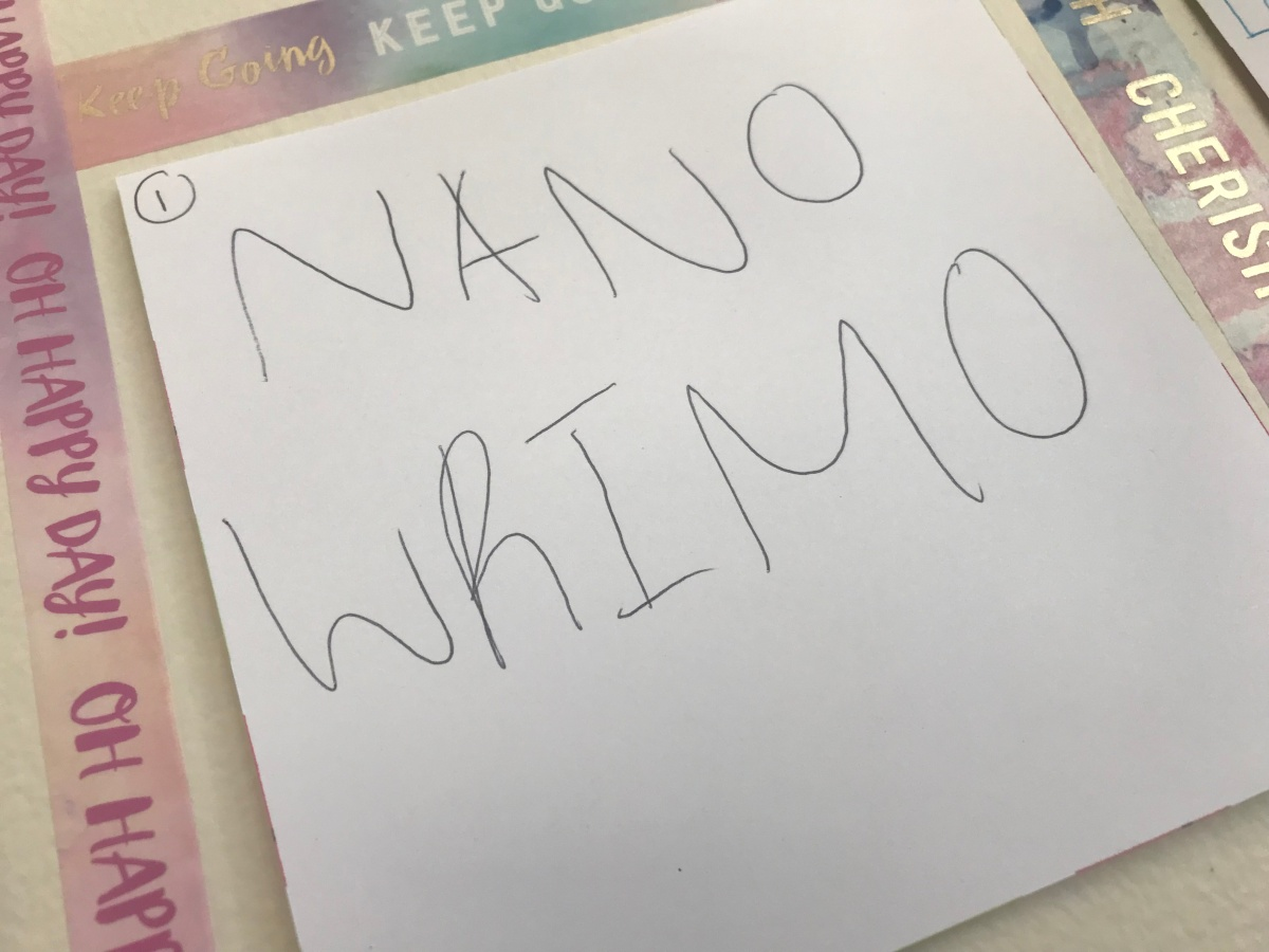 My NaNoWriMo 2017